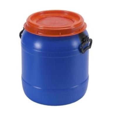 Plastic ton met schroefdeksel